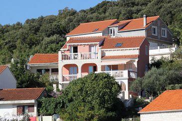 Property Medvinjak (Korčula) - Accommodation 4396 - Apartments with pebble beach.