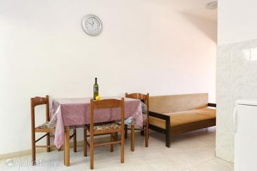 Lumbarda, Dining room u smještaju tipa apartment, dostupna klima, dopusteni kucni ljubimci i WIFI.