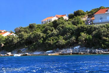 Property Tri Žala (Korčula) - Accommodation 4432 - Apartments near sea with pebble beach.