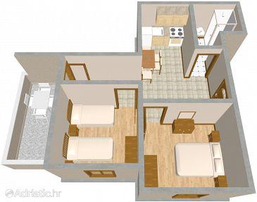 Apartment A-444-b - Apartments Sali (Dugi otok) - 444