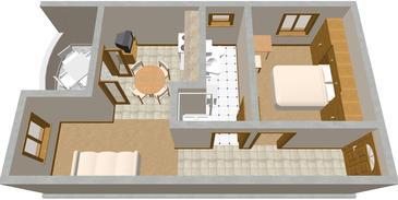 Apartment A-445-a - Apartments Sali (Dugi otok) - 445