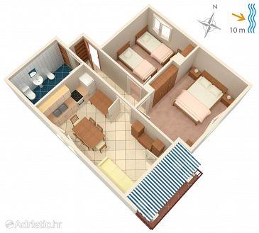 Apartment A-4451-b - Apartments Korčula (Korčula) - 4451