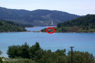 Property Gradina (Korčula) - Accommodation 4457 - Vacation Rentals near sea with rocky beach.