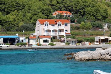 Property Prižba (Korčula) - Accommodation 4485 - Apartments near sea with pebble beach.