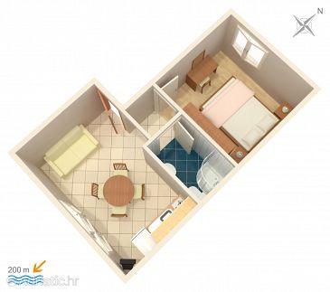 Apartment A-4500-c - Apartments Orebić (Pelješac) - 4500