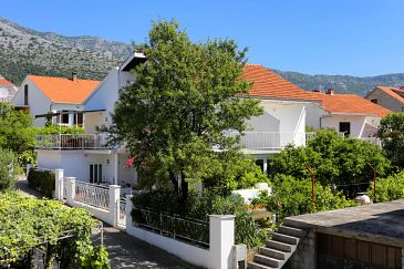 Property Orebić (Pelješac) - Accommodation 4517 - Apartments and Rooms near sea with pebble beach.