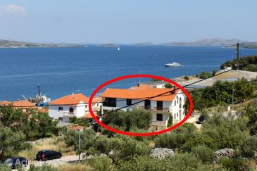 Property Sali (Dugi otok) - Accommodation 454 - Apartments near sea with pebble beach.