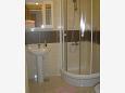 Kučište - Perna, Bathroom u smještaju tipa apartment, WIFI.