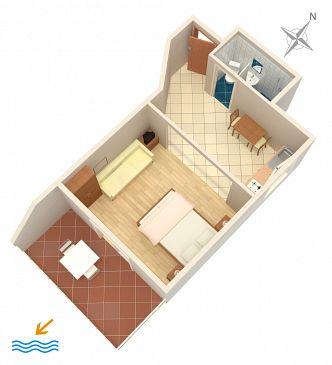 Studio AS-4554-a - Apartamenty Orebić (Pelješac) - 4554