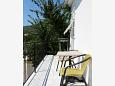 Balcony - Apartment A-4556-a - Apartments and Rooms Sreser (Pelješac) - 4556