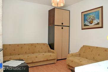 Sreser, Living room u smještaju tipa apartment, dopusteni kucni ljubimci i WIFI.