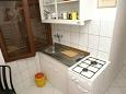 Trpanj, Kuchnia w zakwaterowaniu typu studio-apartment.