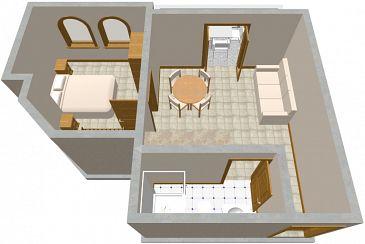Apartment A-456-a - Apartments Žman (Dugi otok) - 456