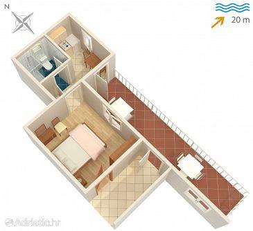 Apartment A-4560-c - Apartments and Rooms Sreser (Pelješac) - 4560