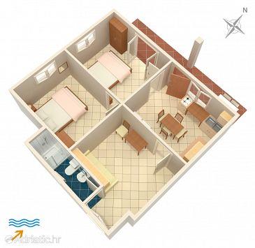 Apartment A-4561-b - Apartments Drače (Pelješac) - 4561