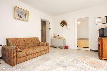 Orebić, Living room u smještaju tipa apartment, dopusteni kucni ljubimci.