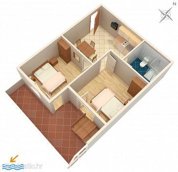 Apartment A-4565-d - Apartments Orebić (Pelješac) - 4565