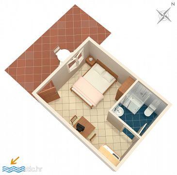 Studio flat AS-4565-a - Apartments Orebić (Pelješac) - 4565