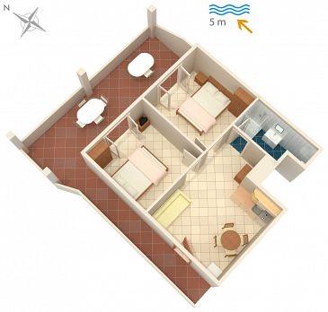 Apartment A-4568-a - Apartments Luka Dubrava (Pelješac) - 4568