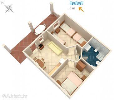 Apartment A-4568-b - Apartments Luka Dubrava (Pelješac) - 4568