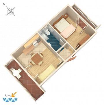Apartament A-458-c - Apartamenty Okrug Gornji (Čiovo) - 458