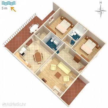 Apartment A-458-d - Apartments Okrug Gornji (Čiovo) - 458