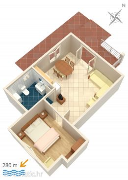 Apartment A-4587-a - Apartments Orebić (Pelješac) - 4587