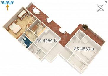 Apartament A-4589-c - Apartamenty Jelsa (Hvar) - 4589