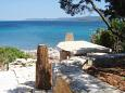 Courtyard Uvala Girna Luka (Hvar) - Accommodation 4592 - Vacation Rentals near sea.