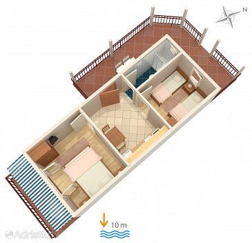 Apartment A-4598-a - Apartments Uvala Zaraće (Hvar) - 4598