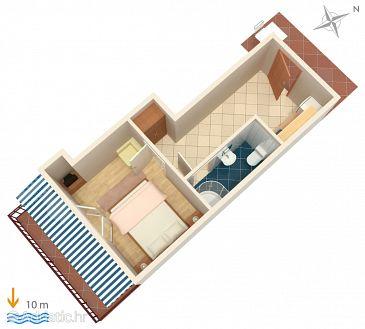Apartment A-4598-d - Apartments Uvala Zaraće (Hvar) - 4598