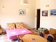 Living room - Apartment A-4606-b - Apartments Jagodna (Brusje) (Hvar) - 4606