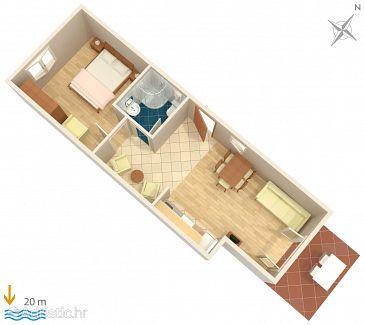 Apartment A-4608-a - Apartments Jelsa (Hvar) - 4608