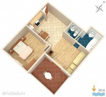 Apartment A-4608-b - Apartments Jelsa (Hvar) - 4608