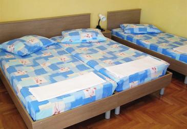 Hvar, Bedroom u smještaju tipa room, dostupna klima i WIFI.