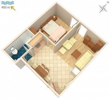 Apartment A-4618-a - Apartments Stari Grad (Hvar) - 4618