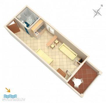 Studio flat AS-4622-b - Apartments Basina (Hvar) - 4622