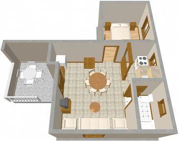 Apartament A-463-a - Apartamenty Jadrija (Šibenik) - 463