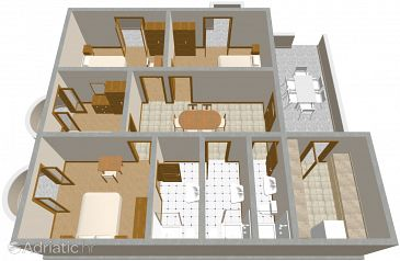 Apartment A-464-a - Apartments Brodarica (Šibenik) - 464