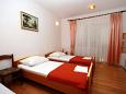 Bedroom - Studio flat AS-4652-a - Apartments Nemira (Omiš) - 4652