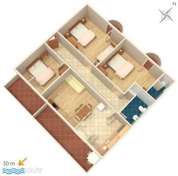 Apartment A-466-a - Apartments Brodarica (Šibenik) - 466