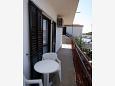 Rogoznica, Balcony 2 u smještaju tipa apartment, s pogledom na more, dopusteni kucni ljubimci i WIFI.