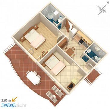 Apartment A-4671-b - Apartments Promajna (Makarska) - 4671