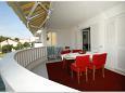Terrace - Apartment A-4671-b - Apartments Promajna (Makarska) - 4671