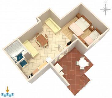 Studio flat AS-4688-a - Apartments Dubrovnik (Dubrovnik) - 4688