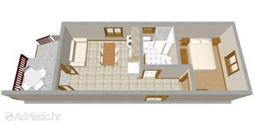 Apartment A-469-b - Apartments Žaborić (Šibenik) - 469