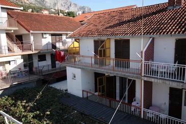 Property Podaca (Makarska) - Accommodation 4747 - Apartments with pebble beach.
