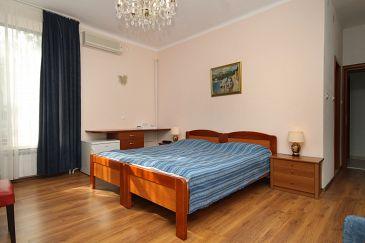 Mlini, Bedroom u smještaju tipa room, dostupna klima, dopusteni kucni ljubimci i WIFI.