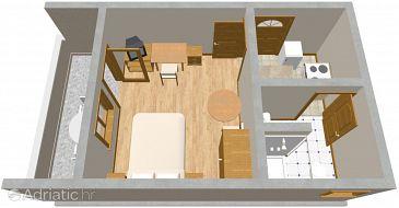 Apartment A-479-a - Apartments Brodarica (Šibenik) - 479