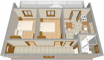 Apartment A-480-a - Apartments Grebaštica (Šibenik) - 480